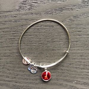 Alex and Ani July birthstone bracelet